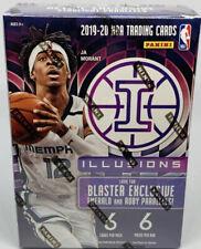 2019-20 Panini Illusions NBA Basketball Blaster Box Brand New Factory Sealed