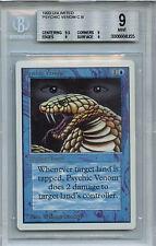 MTG Unlimited Psychic Venom BGS 9.0 (9) Mint Magic  WOTC Card 8355