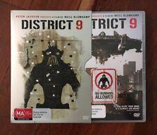 District 9 (2009) [PAL DVD] In Steel Slip Case - Like New