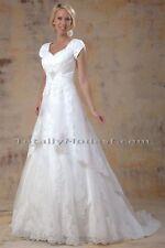 Juniors Size Short Sleeve Wedding Dresses   eBay