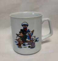 Vintage Disney Reutter Christmas Porzellan Coffee Tea Mug Germany