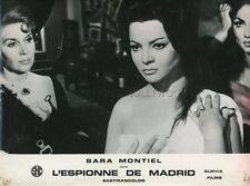 SARA MONTIEL LA REINA DEL CHANTECLER 1962 VINTAGE LOBBY CARD #5