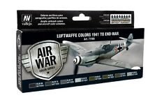 Vallejo Model Air Set-LUFTWAFFE COLORI 1941 a end-war - val71166