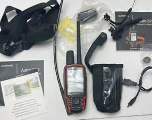 Garmin Astro 320 GPS Tracking Handheld with Long Range Antenna And Extras