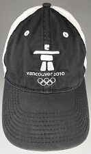 Vancouver Olympics 2010 XXI Winter Games Baseball Cap Hat Adjustable Gray/White