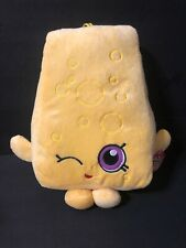 "12"" Shopkins Chee Zee Cheese Plush Doll - NEW WITH TAGS!"