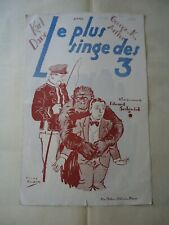 SILENT FILM/KARL DANE/CIRCUS ROOKIES/ UP25/ french pressbook 20's