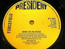 """Forcefield-humo en el agua 7"""" Vinilo PS"""