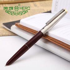 Hero329  Wine Red Fine Nib Fountain Pen  J7