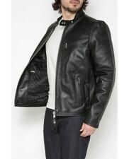 Schott NYC Men's Cafe Bikers Racer Leather jacket (Extra Large = XL