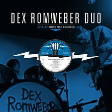 DEX DEXTER ROMWEBER DUO 'live at Third Man LP Flat Duo Jets Cramps white stripes