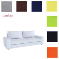 Custom Made Cover Fits IKEA KIVIK Sofa, Replace 3 Seat Sofa Cover