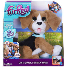 FUR REAL Chatty Charlie The Talking Interactive Pet Dog - Child Toy