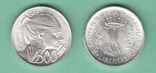 SAN MARINO LIRE 500 ARGENTO SILVER FDC LA PACE  1981 PREZZO REGALO