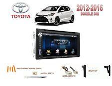2012-2016 TOYOTA YARIS CAR STEREO KIT, BLUETOOTH TOUCHSCREEN DVD USB
