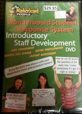 WONDERBOARD STUDENT RESPONSE SYSTEM: (INTRO STAFF DEVELOPMENT DVD) - NEW SEALED