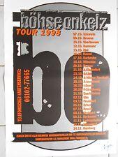 BÖHSE ONKELZ   1998  TOUR  ++ orig.Concert Poster  - Konzert Plakat  A1  NEU