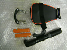 SKS CYCLE SADDLE BAG PREMIUM KIT Pump Tyre Levers Folding Tool Set bike bicycle