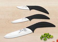 Juego de 3 cuchillo cerámico Set, cuchillo cerámico