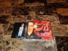 Steve Vai Rare Signed 2 CD Set Sound Theories Vol 1 & 2 Jewel Case Edition + COA