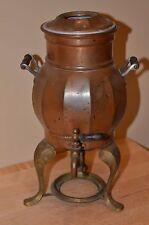 Antique 1907 Copper Percolator Coffee Pot Landers, Frary & Clark No Burner 409