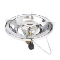 Bottle Up Propane Stove Stainless Steel Brass Burner Camping Hiking Stove
