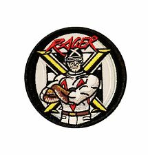 Speed Racer X Logo Patch Race Car Classic Cartoon Embroidered Iron On Applique