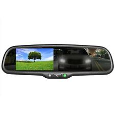 """Master Tailgaters OEM Rear View Mirror with 4.3"""" Auto Bright LCD + Auto Dimming"""