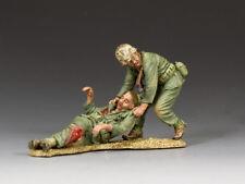 "KING & COUNTRY USMC016 WWII 'TARAWA' ""U.S.M.C. NO MARINE LEFT BEHIND""  MIB!"