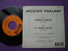 JACQUES VAILLANT La Grand' Route FRANCE 45 CONTEX 1970s