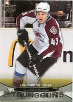 11/12 UPPER DECK YOUNG GUNS ROOKIE RC #209 CAMERON GAUNCE AVALANCHE *32531
