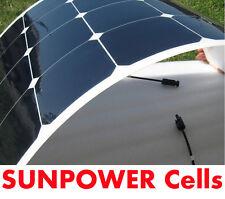 NEW! 100W Semi Flexible Solar Panel 12V For Battery Charging RV Boat Caravan