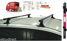 Hyundai i30 2008 > Hyundai i20 2015 >  Roof Rack Bars Fixed point *NO Rails