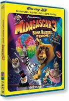 Madagascar 3 : Bons baisers d'Europe Blu-ray 3D en Francais vendu en loose