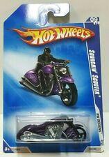 2009 Hot Wheels HW Designs Scorchin' Scooter Purple 105