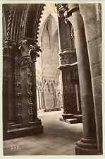 Norvège - Cathédrale de Nidaros à Trondheim Vintage albumen print  Tirage albu