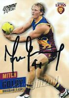 ✺Signed✺ 2013 BRISBANE LIONS AFL Card MITCH GOLBY
