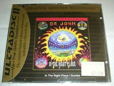 DR. JOHN In The Right Place Gumbo MFSL Ultradisc II Gold CD Factory Sealed!