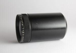 rare Carl Zeiss Jena Kipronar F/1,4 50mm Projection Lens swirly bokeh fast 1.4