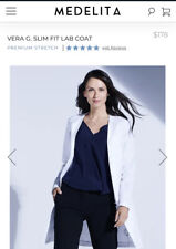 Medelita Vera G. Slim Lab Coat Size 2 *Worn Once* Retail $178