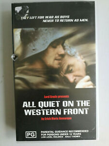 All Quiet On The Western Front VHS Classic War film PG Richard Thomas VGC