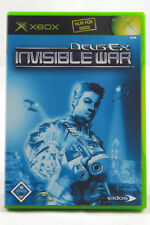 Deus Ex: Invisible War (Microsoft Xbox) Spiel in OVP, PAL, CIB, TOP, GUT