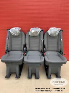 Seat Ford Transit Custom Tourneo bench rear folding seats 3x single seat V362