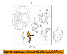 Buick GM OEM 08-14 Enclave Steering Wheel-Cover Left 15919319