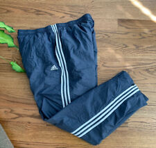 Adidas Golf Training Running Basketball Pants Men's Size 3XLT Waterproof Blue