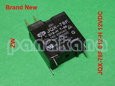 ZW JQX-78F 012-H (JQX-78F 012-1H5, HM78F) 12VDC 4-pin SPST NO Relay – Brand New