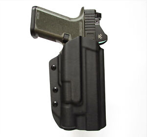 OWB kydex holster with paddle P80 w/light Pf940 TLR-1, X300, APL, PL-Pro, WILD2