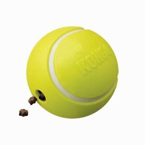 KONG Rewards Tennis Ball Dog Treat Dispenser Boredom Buster Weight Management