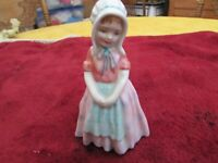 "Vintage Royal Doulton ""Tootles"" girl figurine England bone china porcelain"