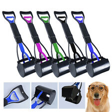 PET DOG CAT EASY WASTE PICKER CLEAN PIKUP JAW POOPER SCOOPER POO REMOVER GRABBER